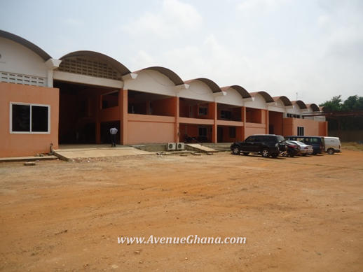 Warehouse on 3.6 Acres of land for sale at Tema