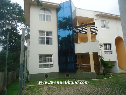 4 bedroom town-house for rent at Airport Residential, Accra Ghana