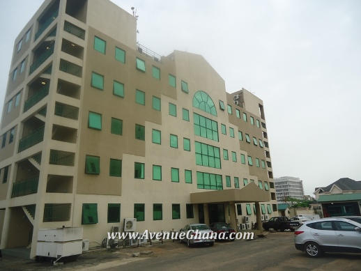 Commercial Property to let in Accra: Office Complex for rent at Airport Residential Area in Accra Ghana