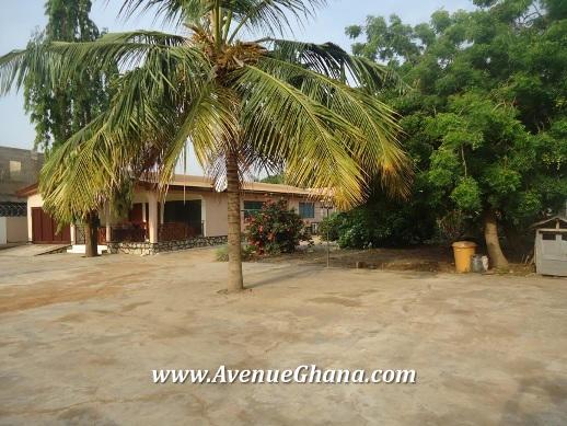 3 bedroom house on two plots of land for sale at Ogbojo near East Legon