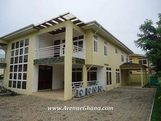 Executive 5 bedroom furnished house for rent in North Ridge, Accra Ghana