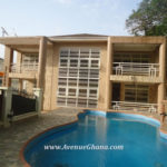 5 bedroom furnished house with swimming pool and 2bq for rent in North Ridge, Accra