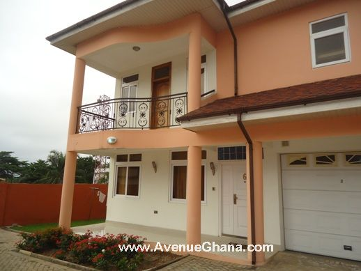 Executive 4 bedroom FURNISHED house for rent in North Ridge, Accra