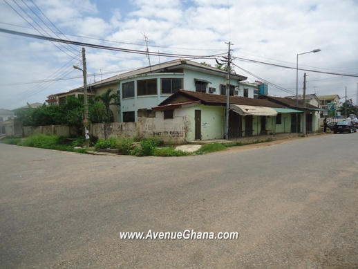 Commercial property for sale at a prime location in Asylum Down, near North Ridge in Accra Ghana