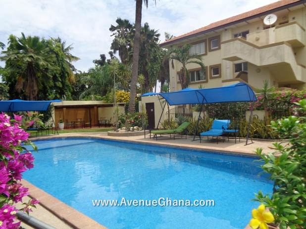 3 bedroom furnished apartment for rent in Airport Residential Area, Accra