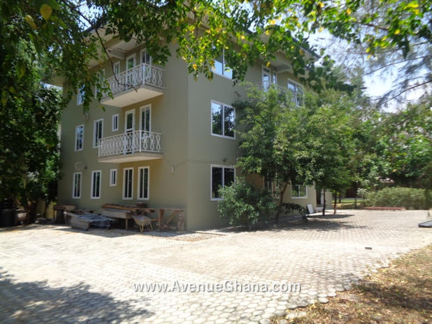 house with multiple apartments for rent at Adjiringanor, East Legon in Accra Ghana