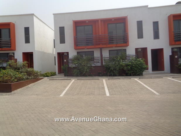 2 bedroom furnished townhouse for rent near Labadi Beach Hotel in Accra