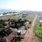 A 5 acre beach land for sale at Elmina Beach