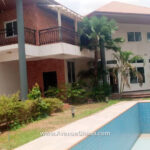 4 bedroom house with 2 bedroom outhouse for sale at Adjiringanor in Accra Ghana