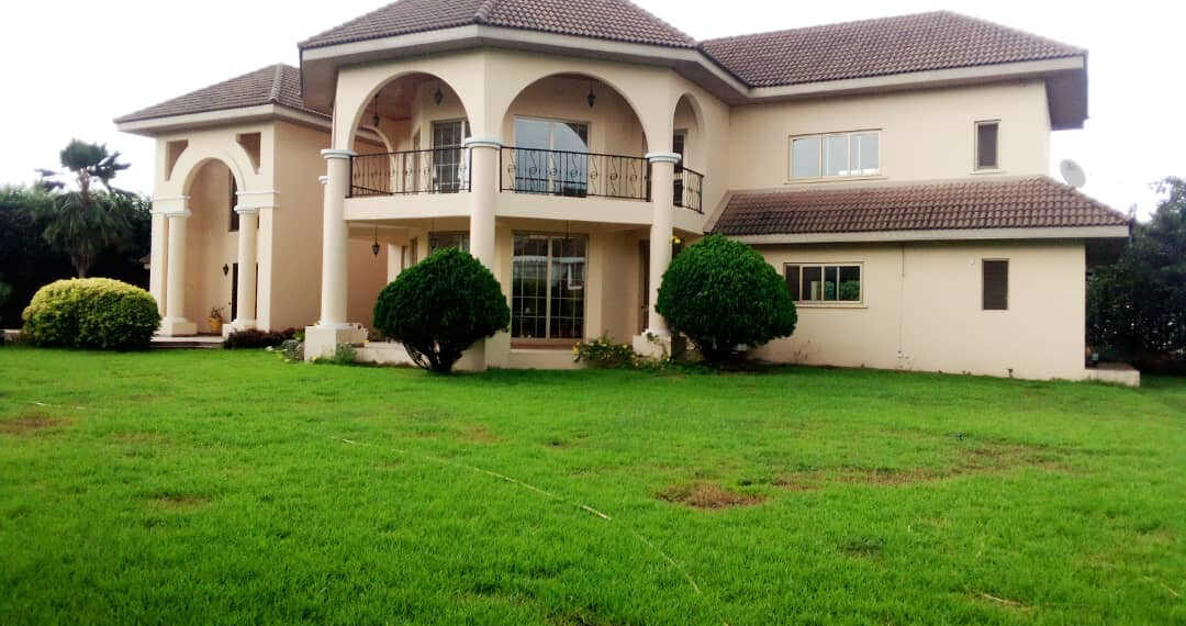 5 bedroom estate house for sale at Trasacco Valley in East Legon, Accra Ghana