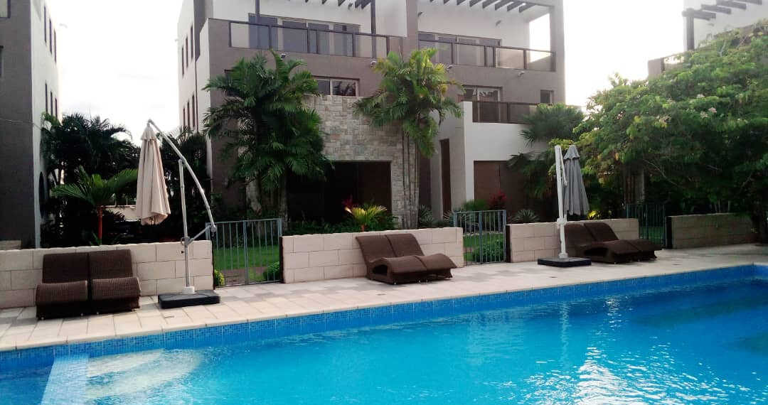 4 bedroom townhouse for rent at Cantonments near American Embassy in Accra Ghana