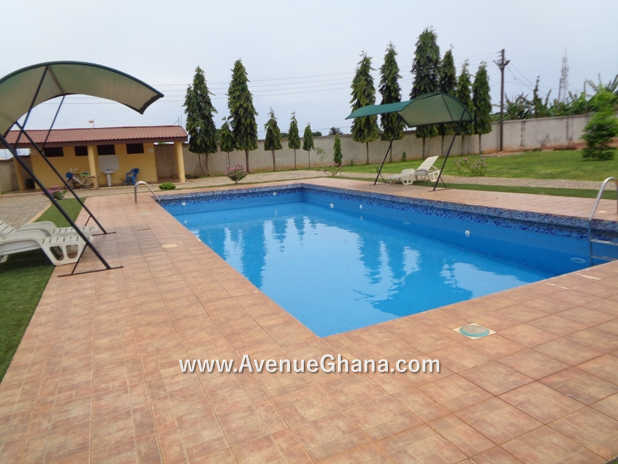 4 bedroom estate house for rent in AU Village at Cantonments near the US Embassy in Accra Ghana