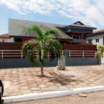 For rent: 4 bedroom house with 2 bedroom outhouse to let at Cantonments near the US Embassy in Accra