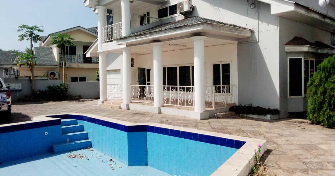 4 bedroom house for rent near Togo Embassy in Cantonments, Accra
