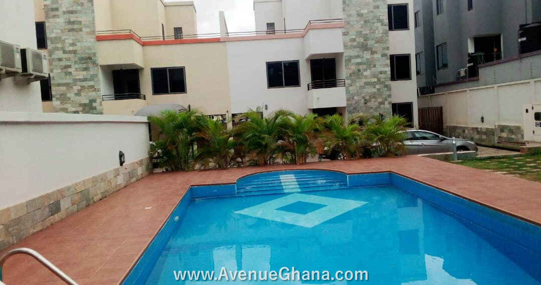 3 bedroom townhouse for rent at Roman Ridge near Nigerian High Commission in Accra